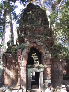 Ta Prohm Ruined Tower
