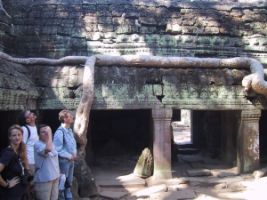 Ta Prohm Tour Group
