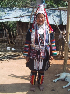 The Akha people