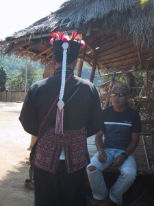 Back of an Akha Man's Outfit