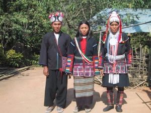 Akha Traditional Dress