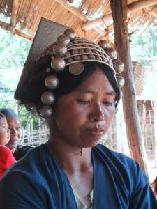 Akha Woman Working