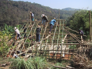 Building a Bamboo House