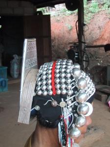 Side View of Akha Headdress