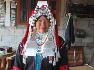 Tien as an Akha Maiden