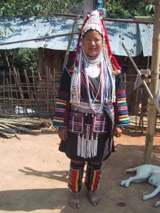 Tien as an Akha Woman