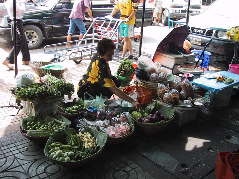 Bangkok Market Woman