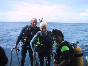 Scuba in the Similans