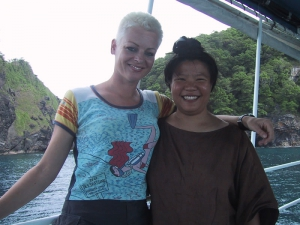 Me and My Scuba Instructor