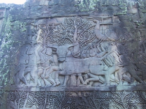 The Bayon Bas-Relief: Bull