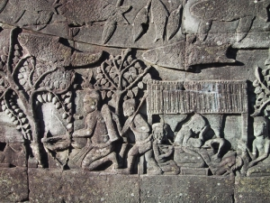 The Bayon Bas-Relief: Childbirth