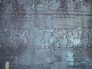 The Bayon Bas-Relief: Chinese Restaurant