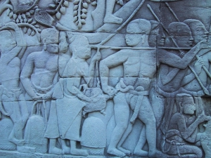 The Bayon Bas-Relief: Turtle