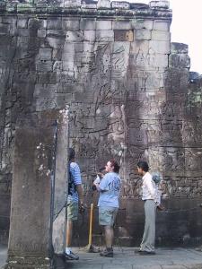 Bayon Wall