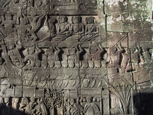 The Bayon Bas-Relief: Warboat