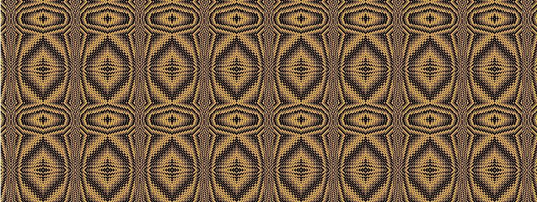 The tiger eye pattern