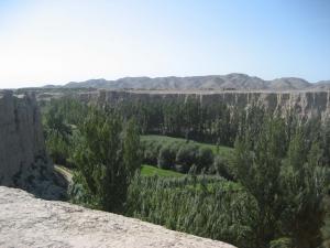 Jiaohe Mesa Near Urumqi