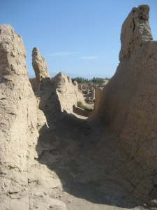 Jiaohe Ruins Corridor