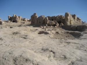 Jiaohe Ruins Walls