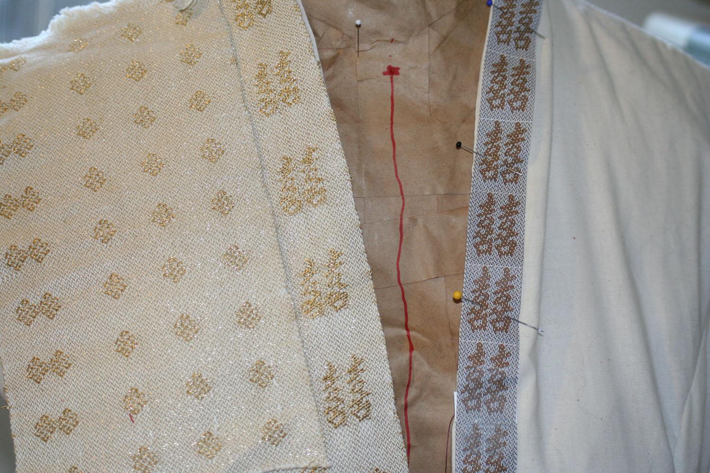 Mockup of the coat