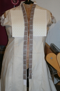 Muslin for the coat
