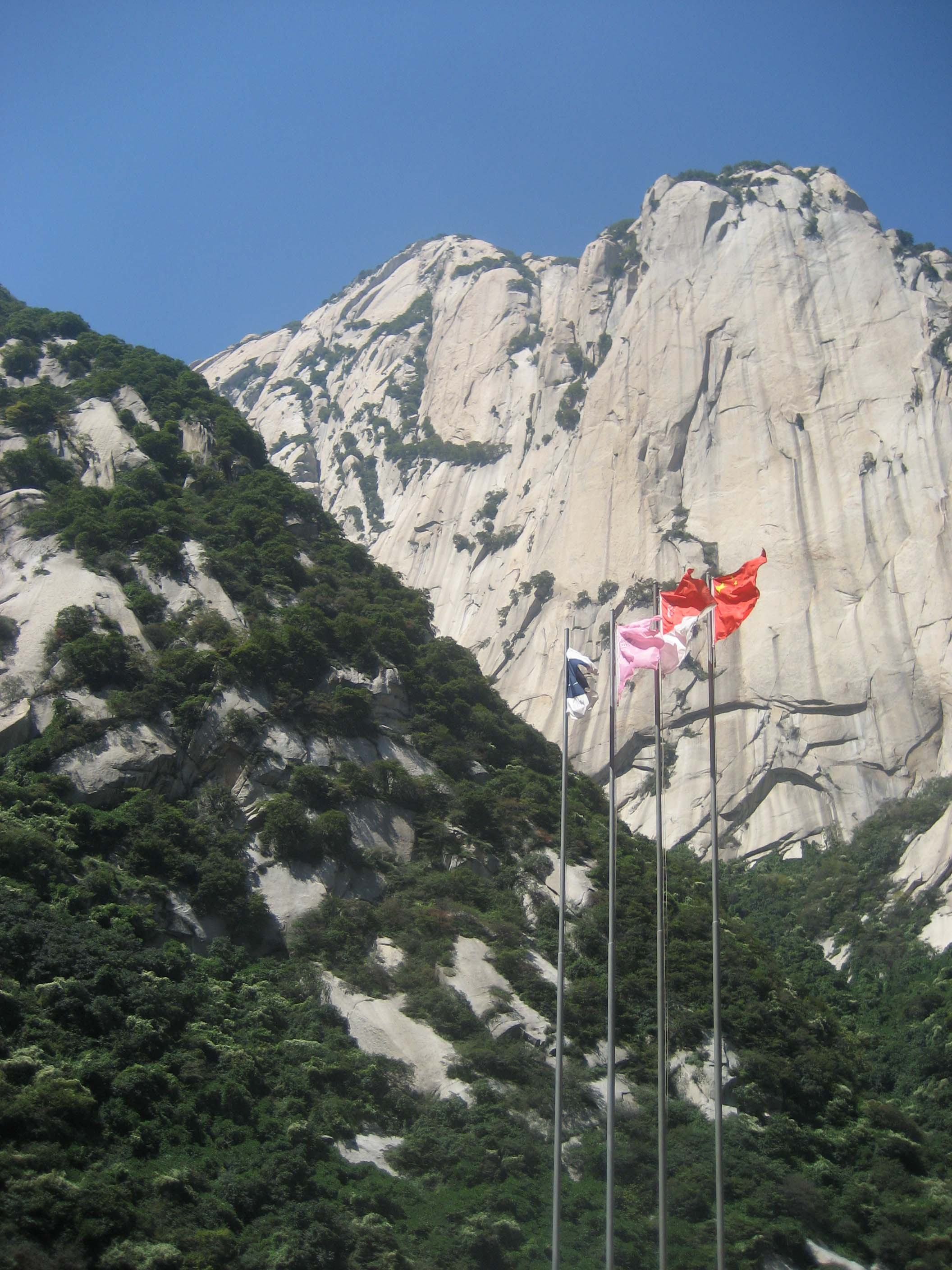 Huashan- The Flower Mountain – The Divine Flower Mountain