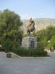 Xining Park Horse and Rider