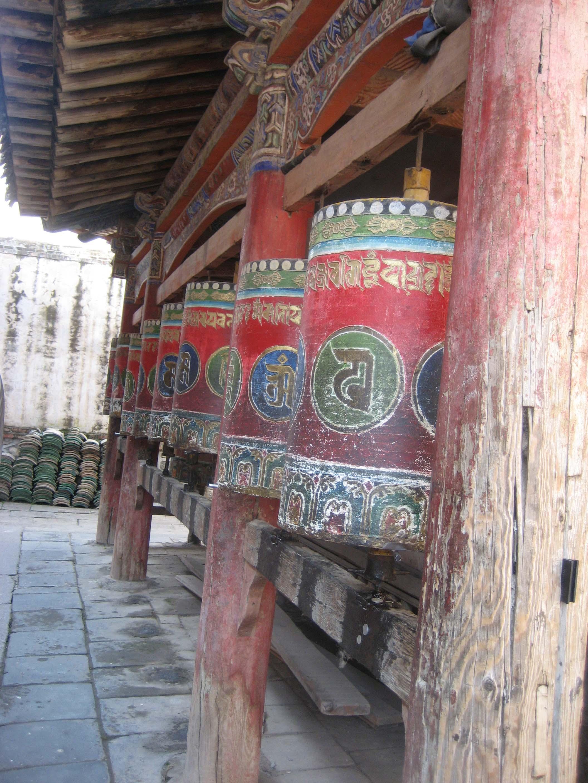 Xining Kumbum Prayer Wheels