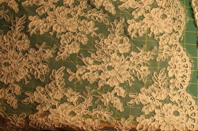 The lace from Britex