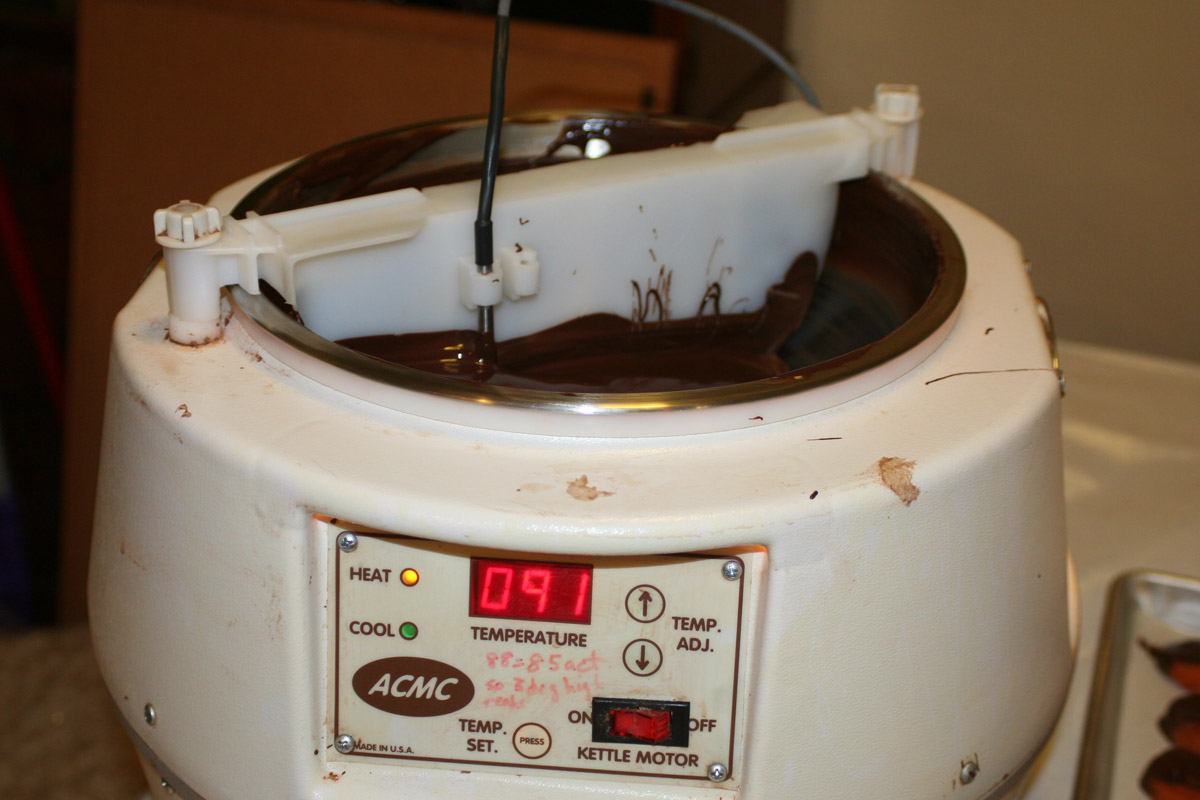 acmc chocolate tempering machine