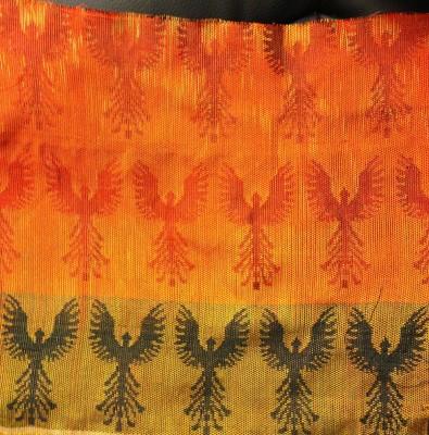 second handwoven phoenix sample, reverse side