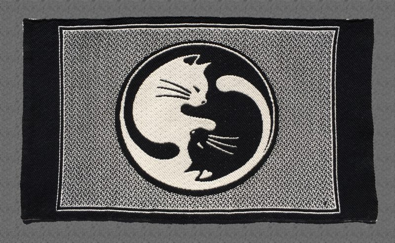 """Cat placemats - """"The Tao of Cats"""" - dark side"""