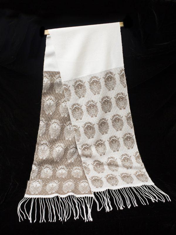 musk ox scarf